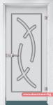 Стъклена врата модел Sand 14-9 – Бреза